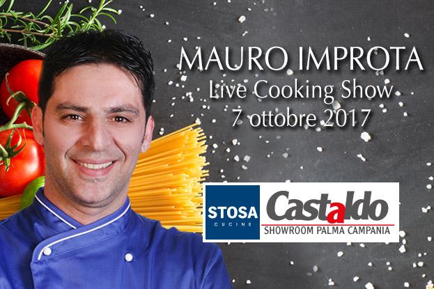 Mauro Improta Live cooking show da Castaldo Arredamenti