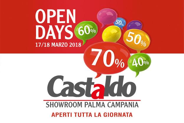 Open Days Castaldo Arredamenti, 17-18 marzo 2018
